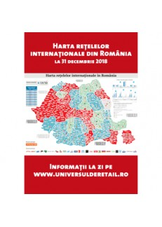 The Map of IKA in Romania at Dec 31, 2018