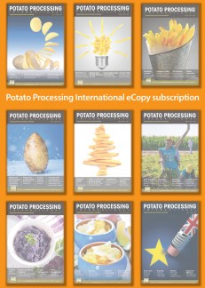 Potato Processing International 1 Year Subscription Online Only